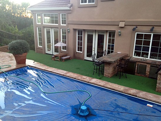 Artificial Grass Photos: Plastic Grass Fort Washington, Pennsylvania Design Ideas, Natural Swimming Pools