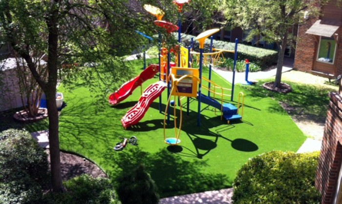 Artificial Grass for Playgrounds in Philadelphia